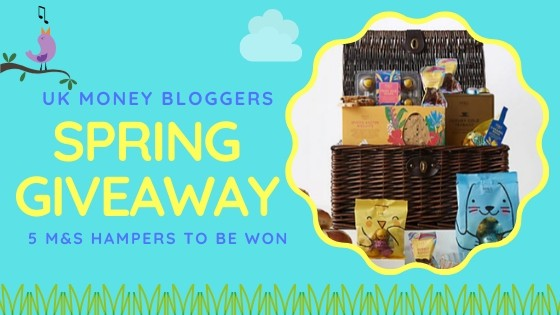 Spring Giveaway! Win 1 of 5 Easter hampers worth £50 each